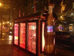 Coca Cola Bus Shelter