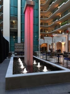Mesh Waterfall at Embassy Suites Miami 8