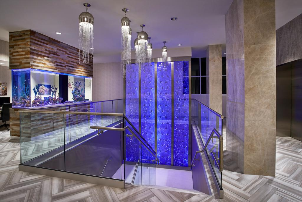 Rod Style Bubble Walls at Residence Inn by Marriott Ocan City Maryland